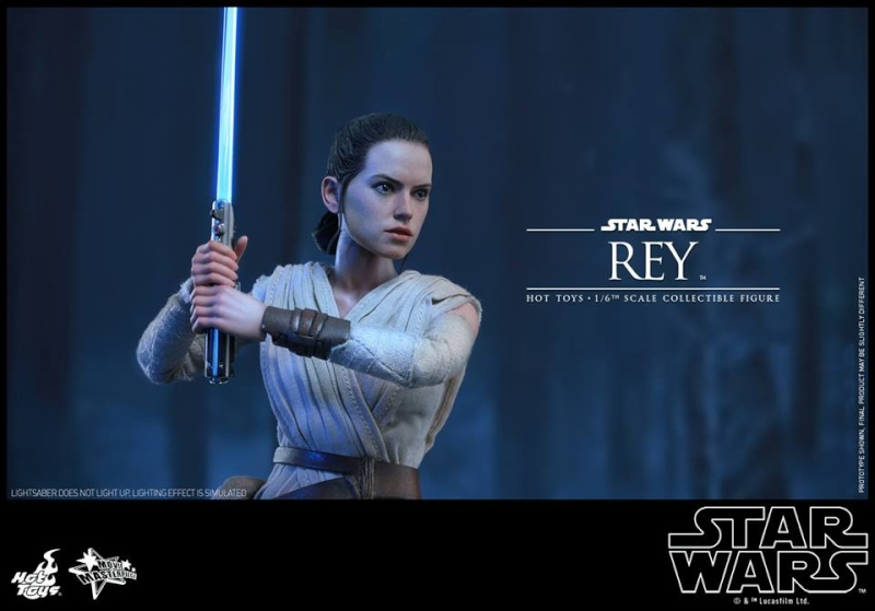 Hot Toys Star Wars TFA 1/6th Scale Rey et BB-8 12553010