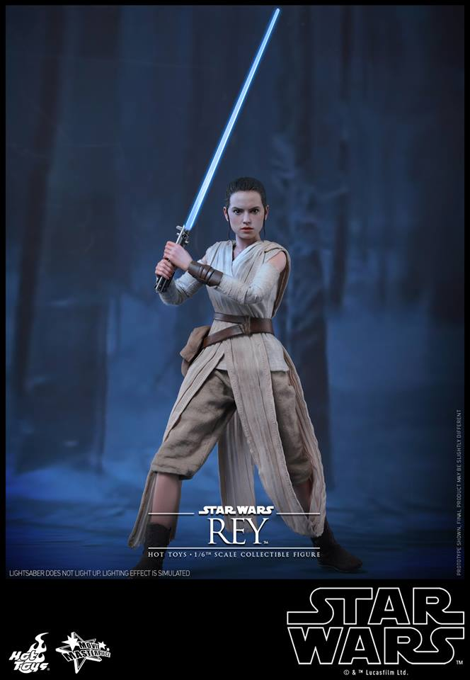 Hot Toys Star Wars TFA 1/6th Scale Rey et BB-8 12565310