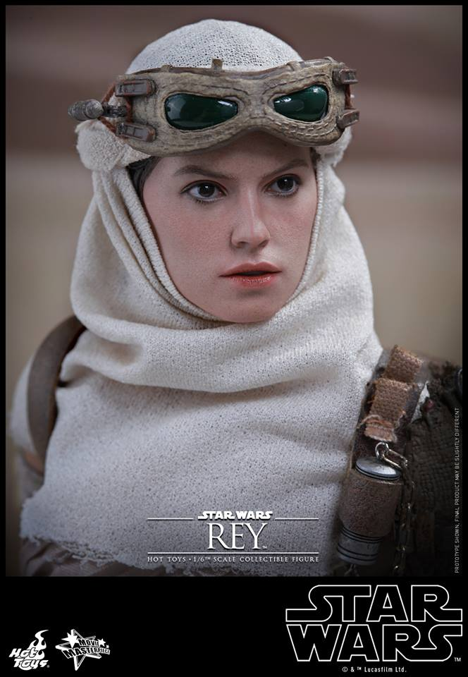 Hot Toys Star Wars TFA 1/6th Scale Rey et BB-8 58191110