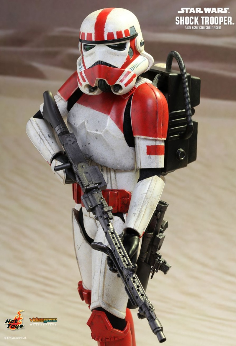 Hot Toys Star Wars Battlefront : SHOCK TROOPER Pd145210