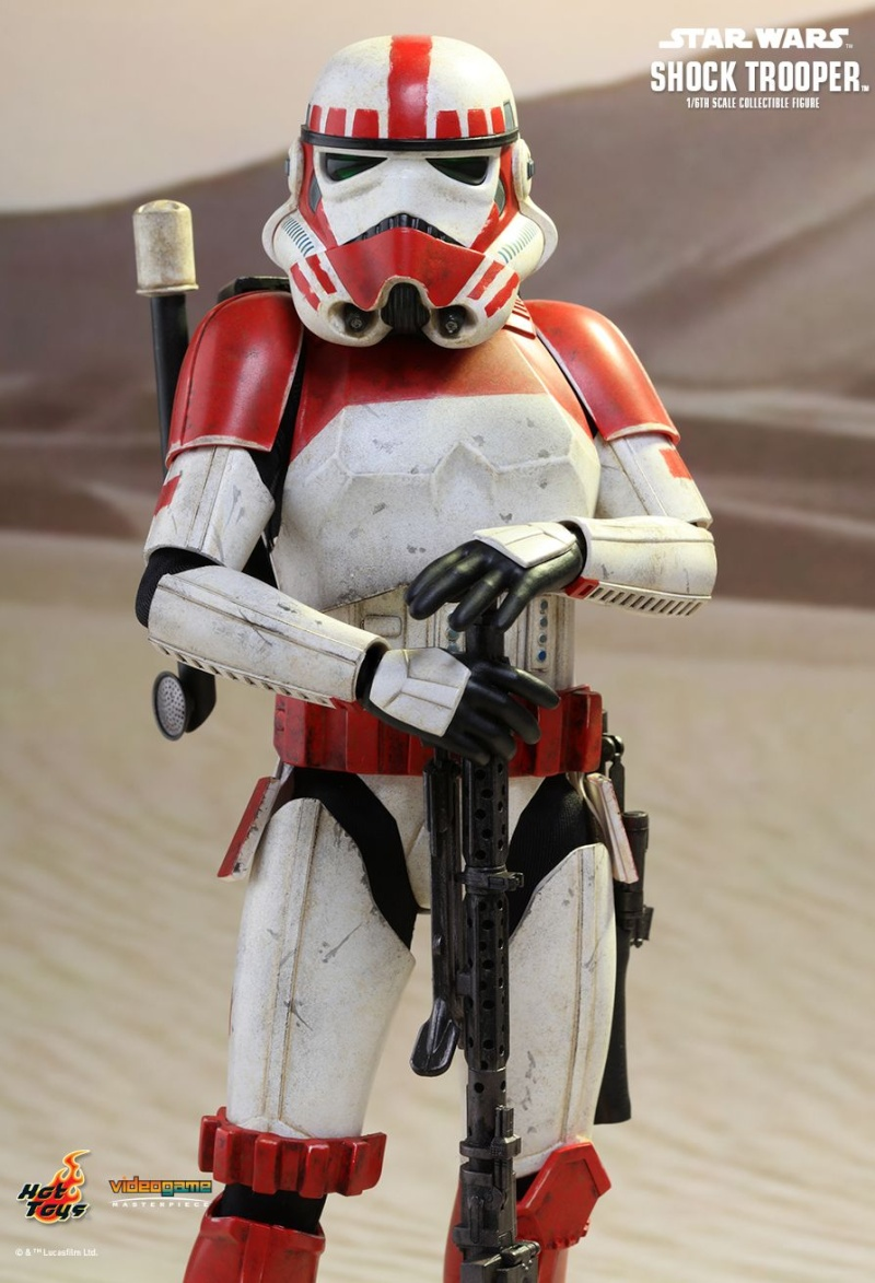 Hot Toys Star Wars Battlefront : SHOCK TROOPER Pd145211