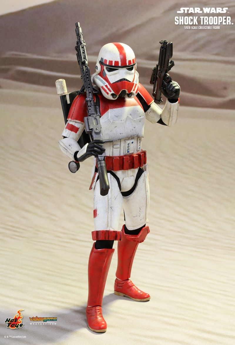 Hot Toys Star Wars Battlefront : SHOCK TROOPER Pd145212
