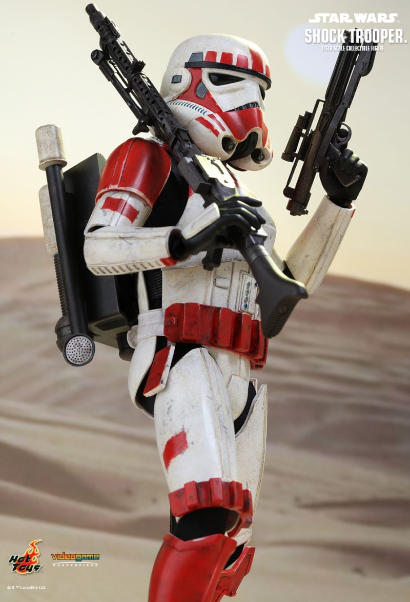 Hot Toys Star Wars Battlefront : SHOCK TROOPER Pd145213