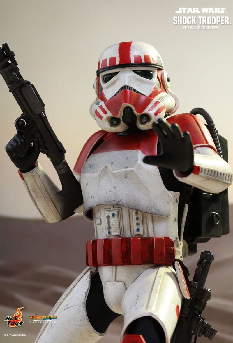 Hot Toys Star Wars Battlefront : SHOCK TROOPER Pd145214