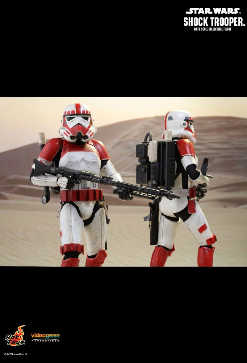 Hot Toys Star Wars Battlefront : SHOCK TROOPER Pd145215