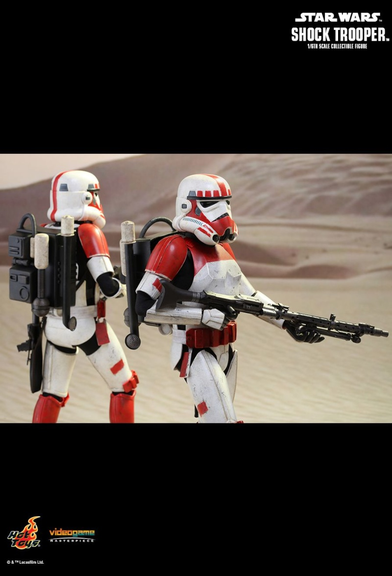 Hot Toys Star Wars Battlefront : SHOCK TROOPER Pd145216