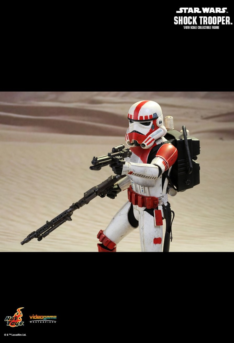 Hot Toys Star Wars Battlefront : SHOCK TROOPER Pd145217