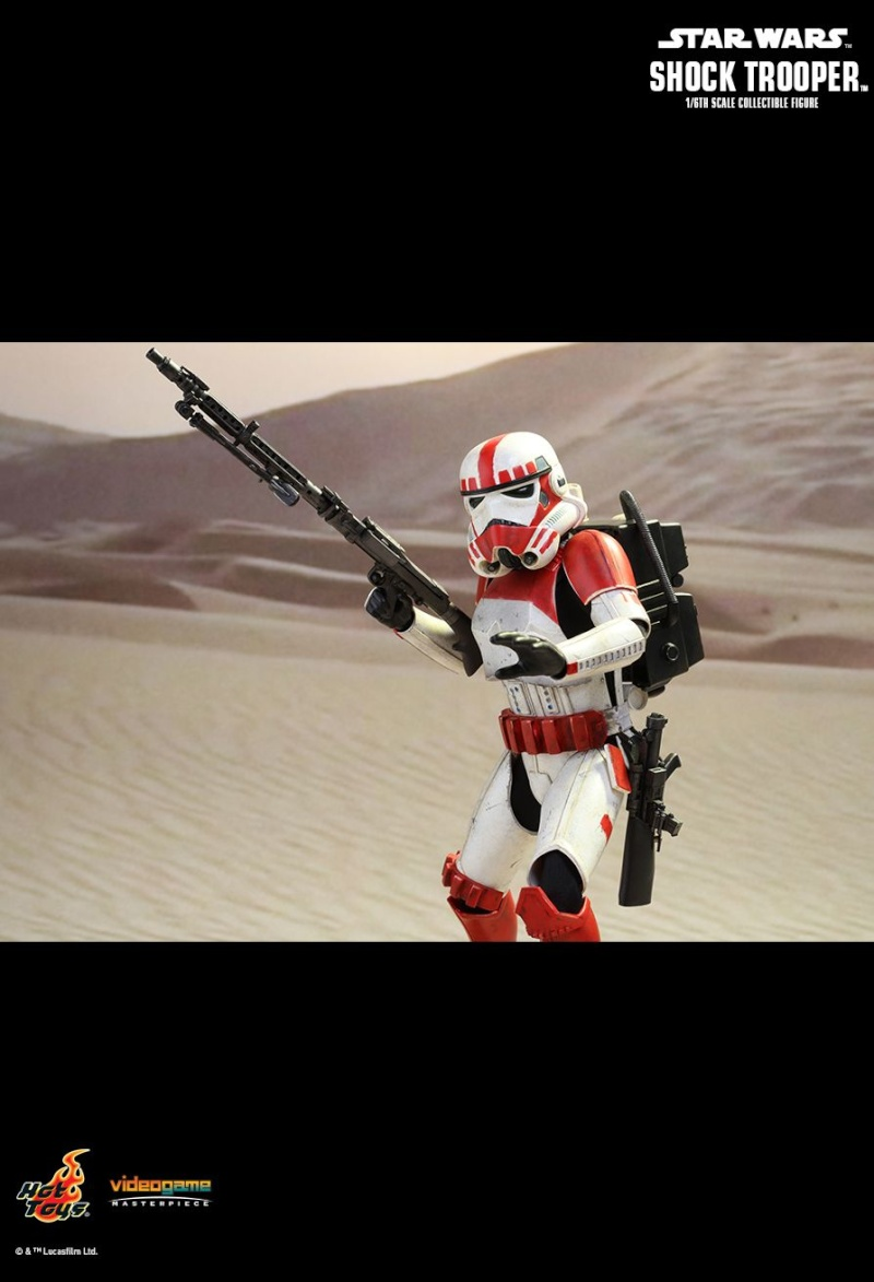 Hot Toys Star Wars Battlefront : SHOCK TROOPER Pd145218