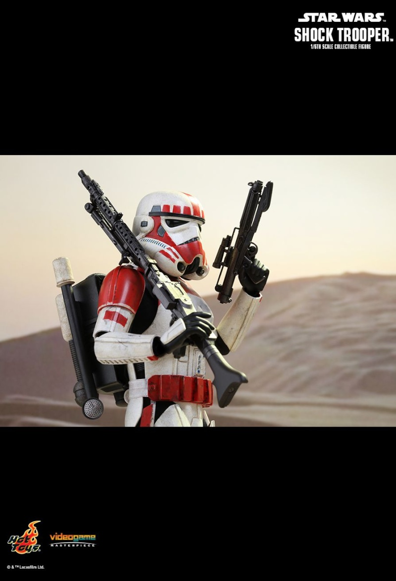 Hot Toys Star Wars Battlefront : SHOCK TROOPER Pd145219