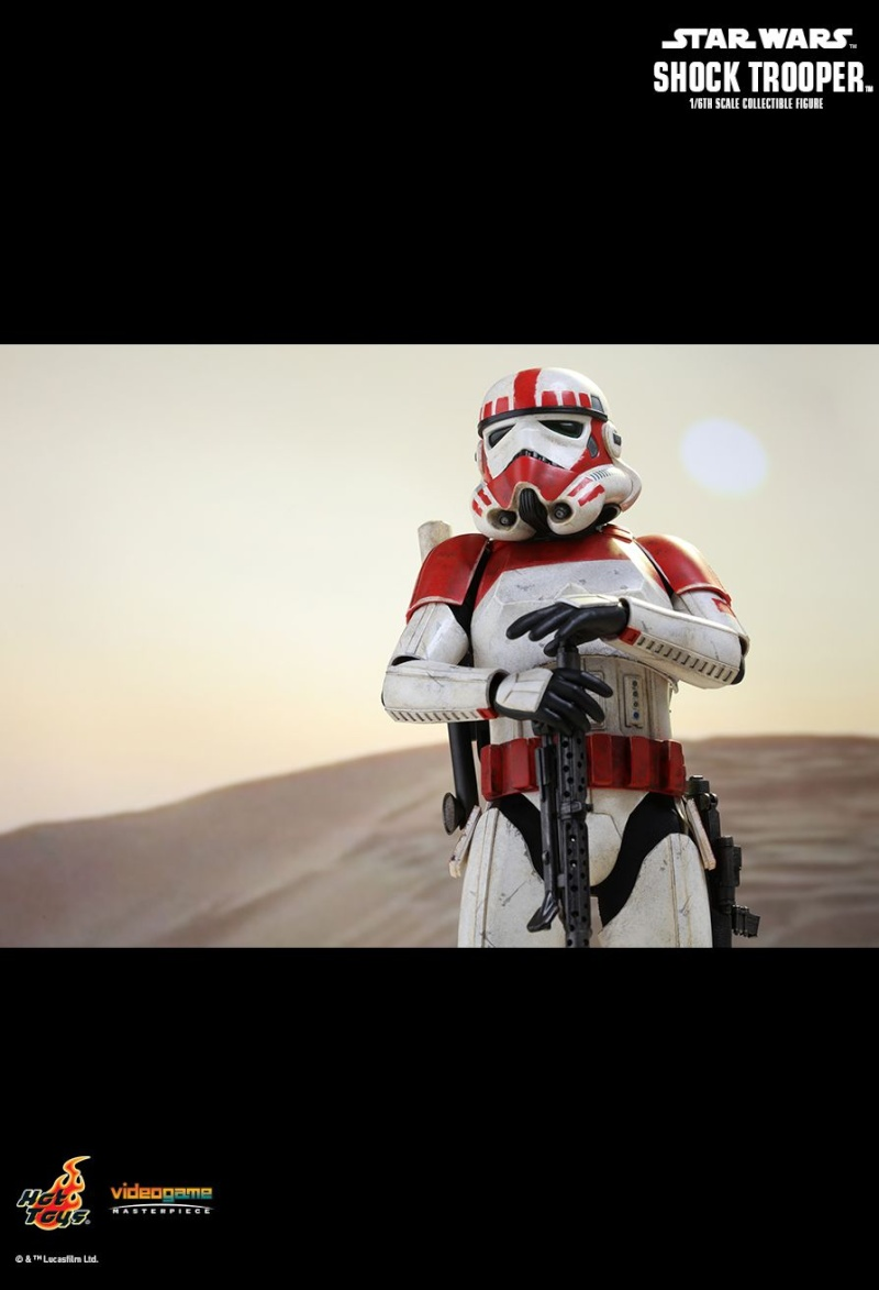 Hot Toys Star Wars Battlefront : SHOCK TROOPER Pd145220