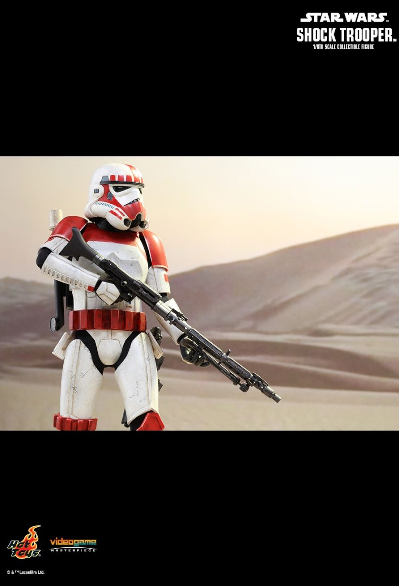 Hot Toys Star Wars Battlefront : SHOCK TROOPER Pd145221