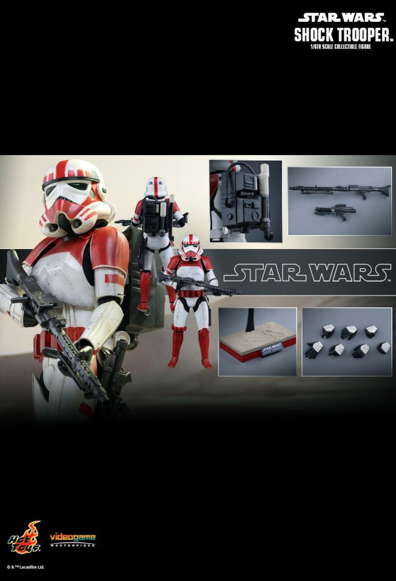 Hot Toys Star Wars Battlefront : SHOCK TROOPER Pd145222