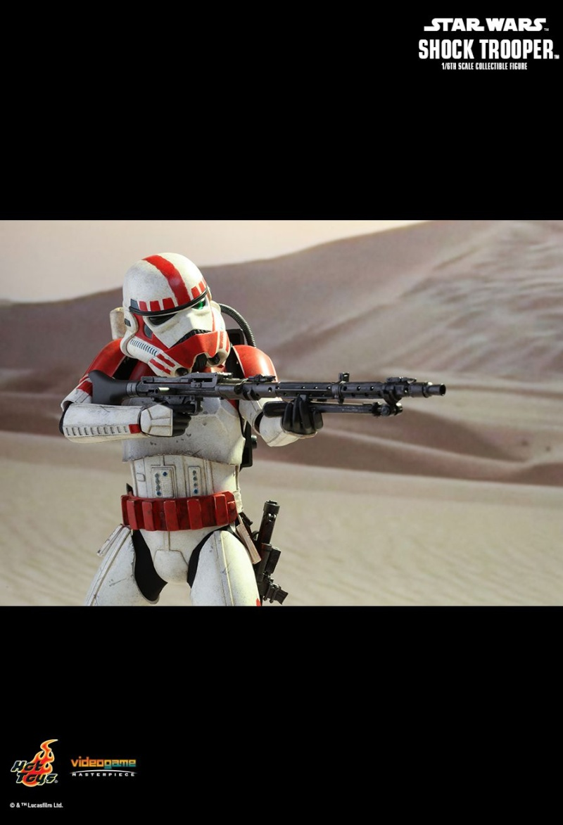 Hot Toys Star Wars Battlefront : SHOCK TROOPER Pd145223