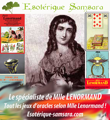 Le Grand Jeu Mythologique de Melle Lenormand Esoter10