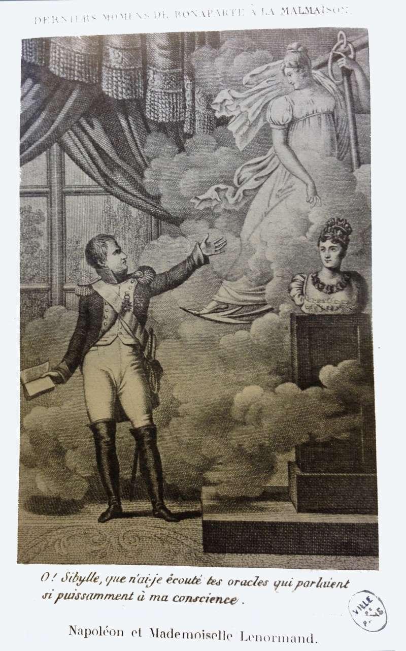 Napoléon et Mlle Lenormand Napole10