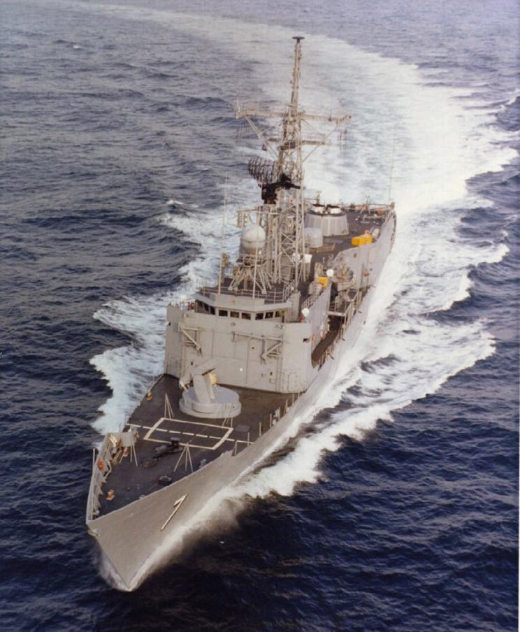 USS Oliver Hazard Perry FFG-7 1/350 - Academy Uss_ol10