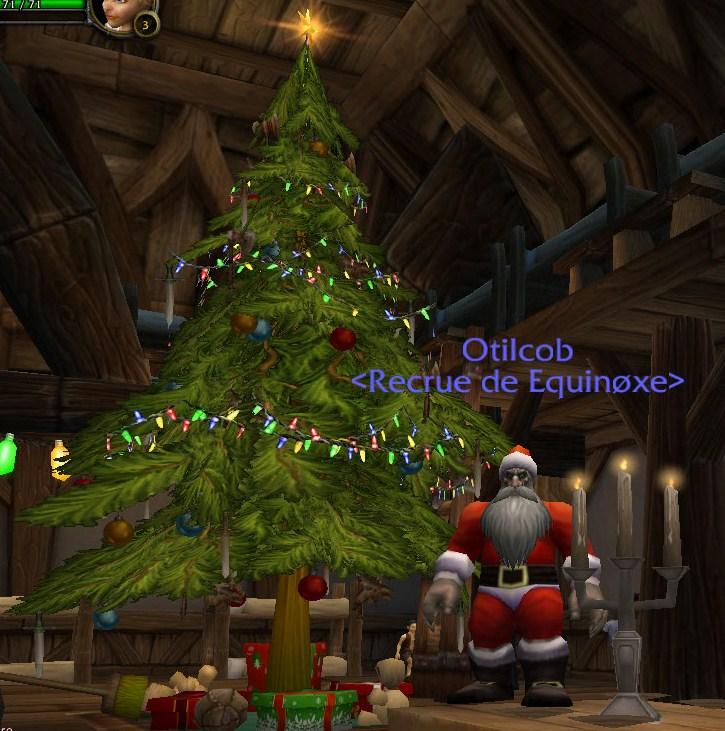 Le père Noël est présent en cette période du voile d'hiver 110