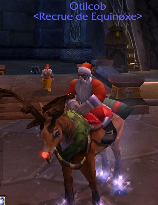 Le père Noël est présent en cette période du voile d'hiver 310