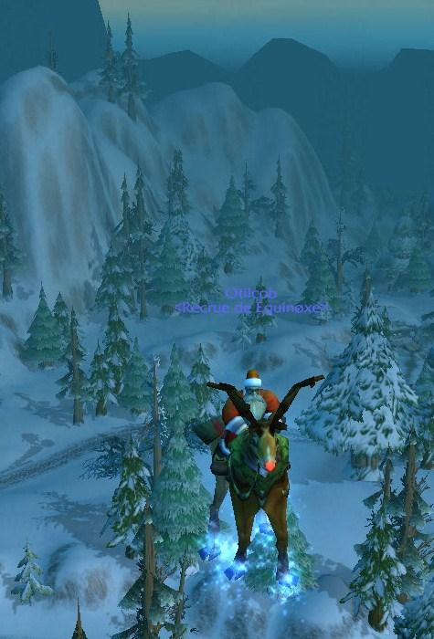 Le père Noël est présent en cette période du voile d'hiver 410