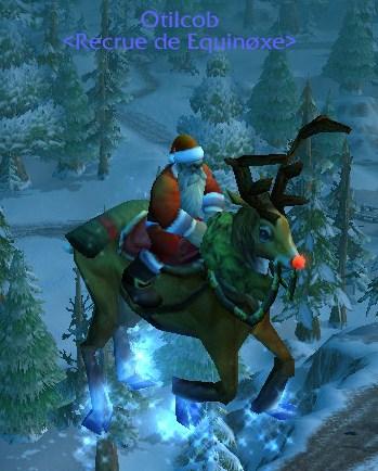 Le père Noël est présent en cette période du voile d'hiver 510