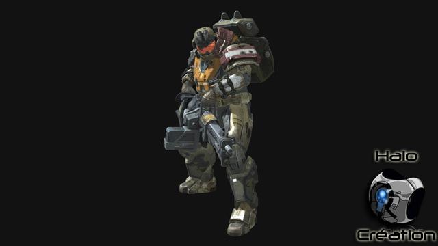 Personnages de Halo Reach (Spartan/Emile/Characters/John 117/Jorge/Noble Team/Noble 6) 1214