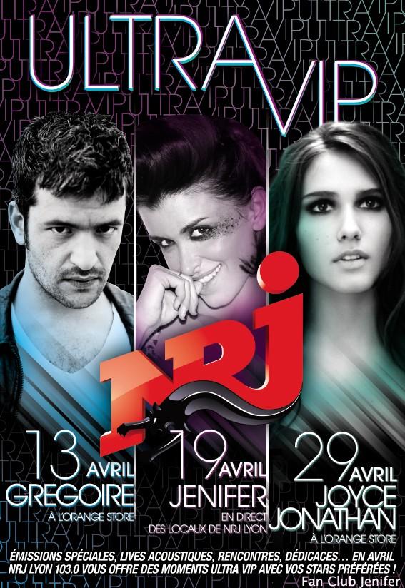 Jenifer Ultra VIP sur NRJ Lyon (avril11) Nrjvip10