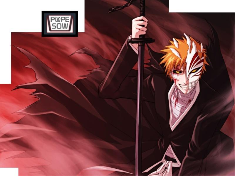 Fan art de Hitman Reborn et de Bleach Ichigo10