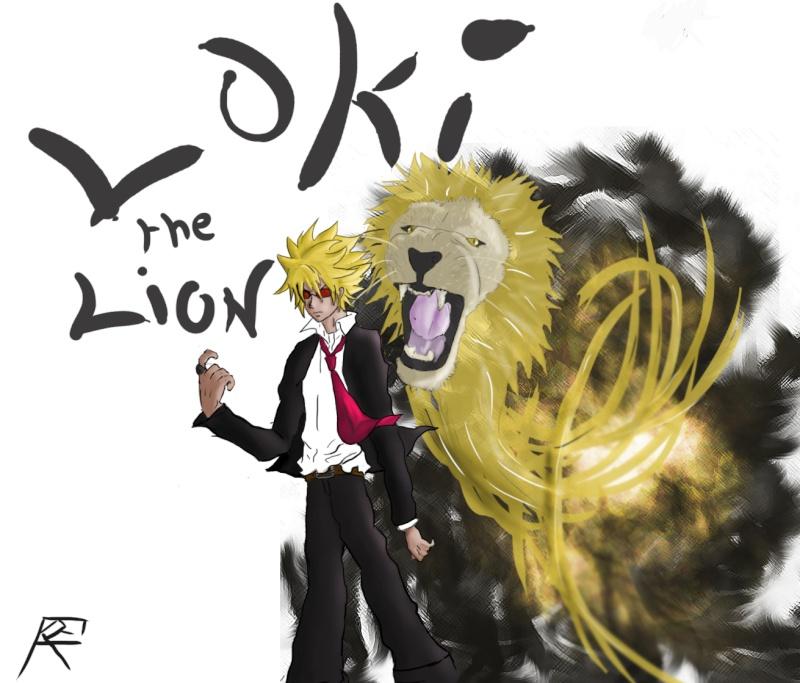 Fan art de Fairy Tail (Loki le Lion) Loky_t11