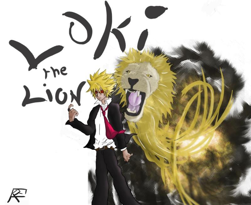 Fan art de Fairy Tail (Loki le Lion) Loky_t13
