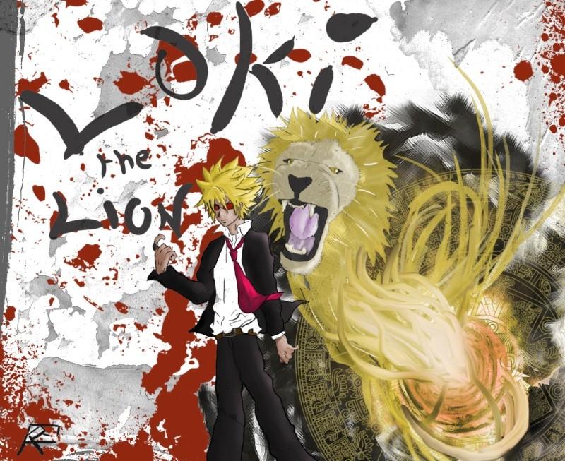 Fan art de Fairy Tail (Loki le Lion) Loky_t14