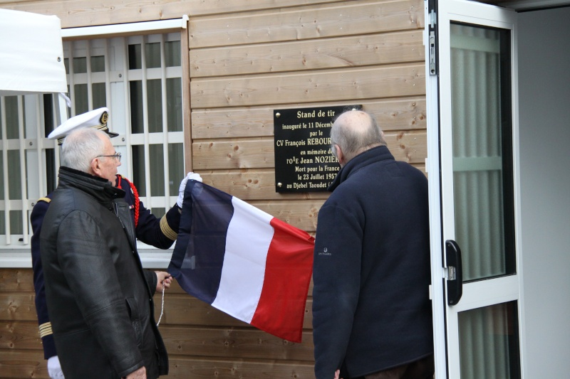 [ Fusiliers Marins ] Inauguration du stand de tir au nom de L'OE2 Nozières Jean Img_0511