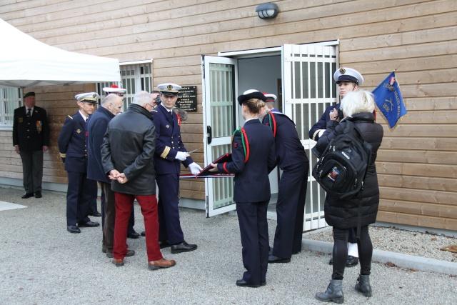 [ Fusiliers Marins ] Inauguration du stand de tir au nom de L'OE2 Nozières Jean Img_0512