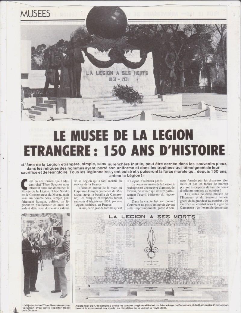 --- Le musée de la Légion. _numer16