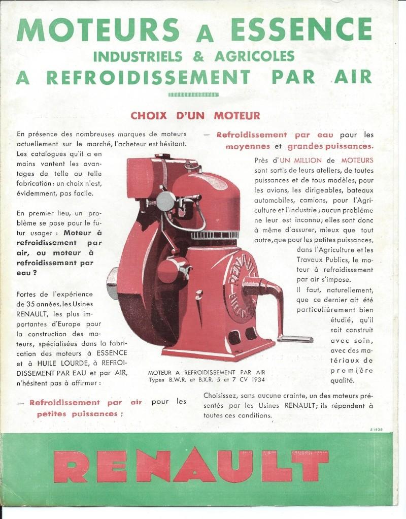 RENAULT - moteur Renault type BU1 1934_110