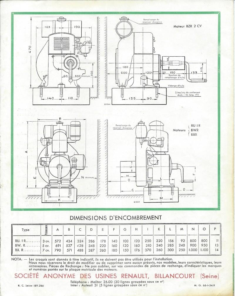 RENAULT - moteur Renault type BU1 1934_410