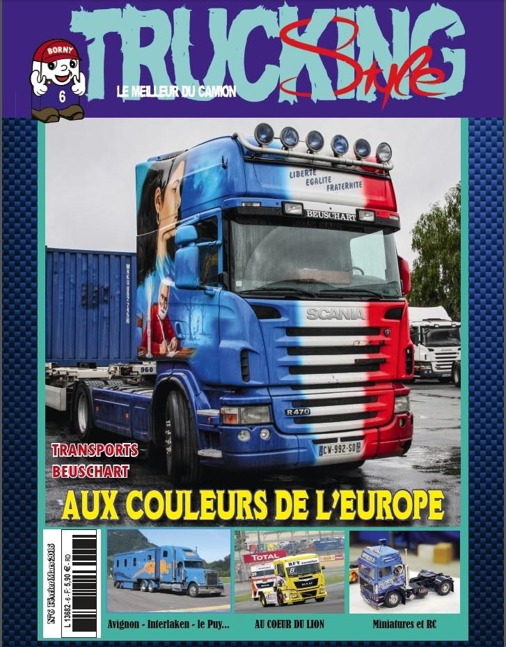 Des Camions et des Hommes n°22 (janvier 2016) est disponible Couv_t10