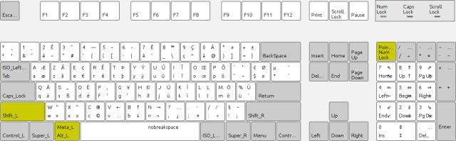 Technique de combat des Immortels avec le clavier numérique Clavie10