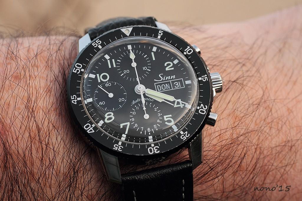 La montre du dernier jour de l'année... Sinn1010
