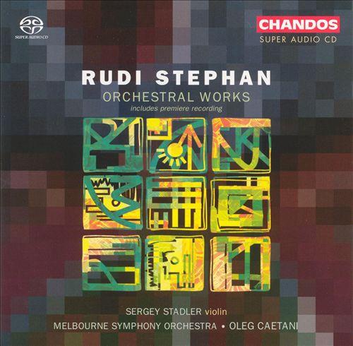 Rudi STEPHAN (1887-1915) Cover29