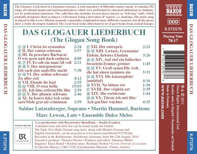 Das Glaugauer Liederbuch (15° siècle) Inlay12
