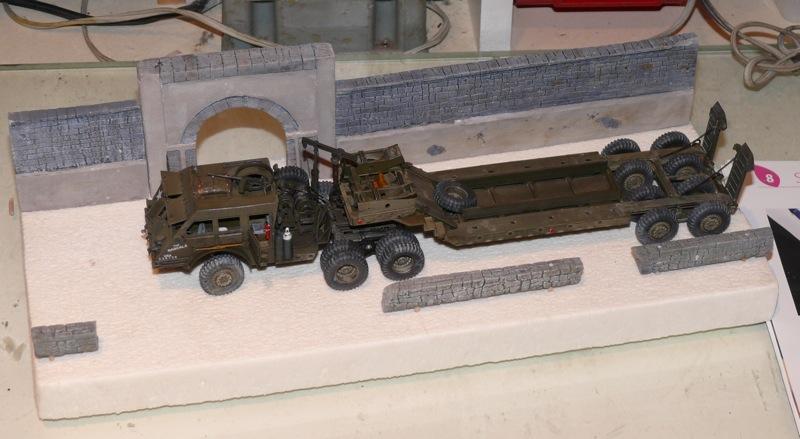 Diorama pour un Pacific M26 Dragon Wagon - Academy - 1/72 P1130816