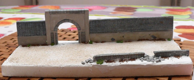 Diorama pour un Pacific M26 Dragon Wagon - Academy - 1/72 - Page 2 P1130818