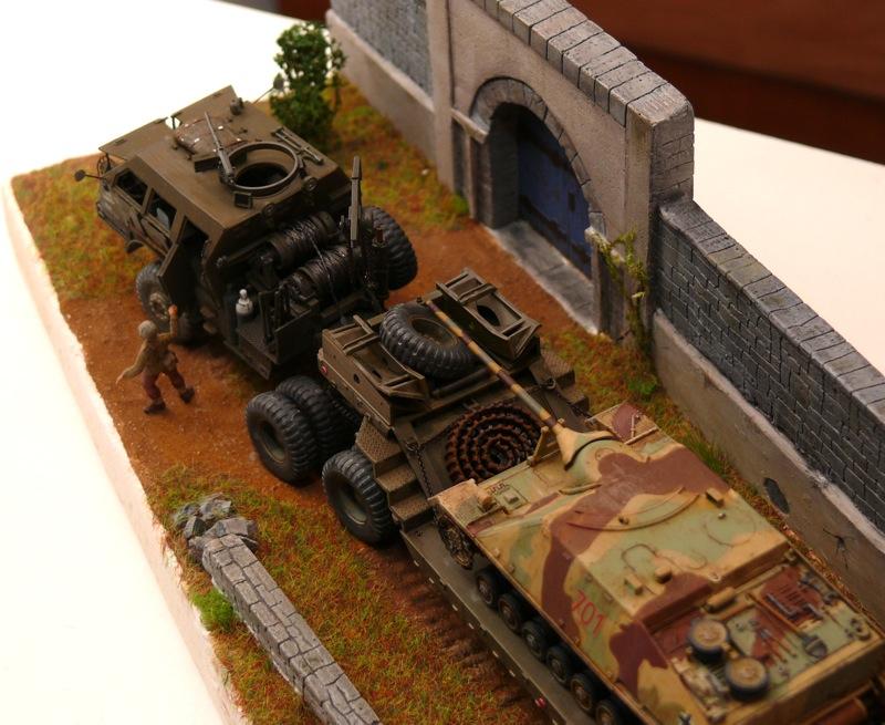 Diorama pour un Pacific M26 Dragon Wagon - Academy - 1/72 - Page 3 P1130916