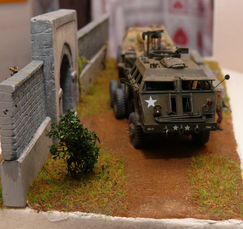 Diorama pour un Pacific M26 Dragon Wagon - Academy - 1/72 - Page 3 P1130919