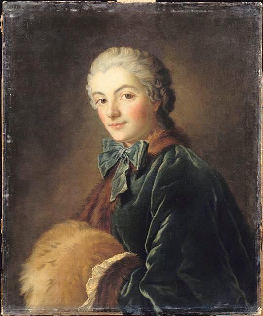 Galerie de portraits : Le manchon au XVIIIe siècle  11988710