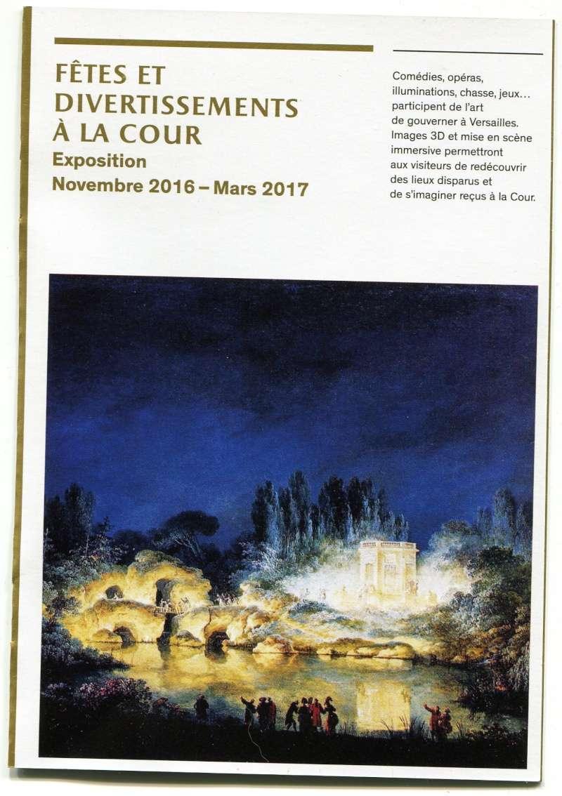 """Exposition à Versailles """"Fêtes et divertissements à la cour. Img86010"""