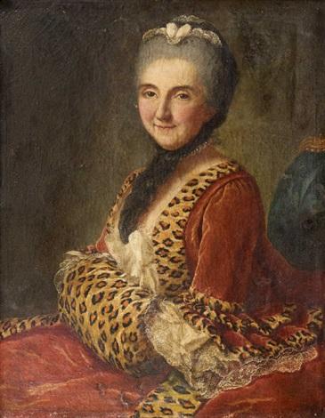 Galerie de portraits : Le manchon au XVIIIe siècle  Marian11