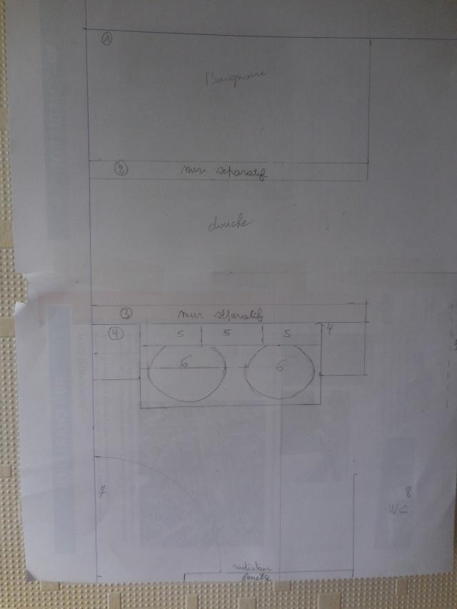 Création d'une salle de bains. Sdb10