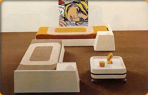 Les meubles Prisunic 12400610