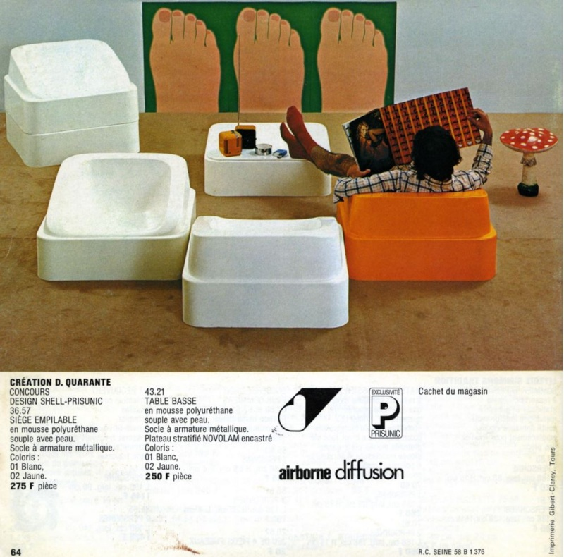 Les meubles Prisunic Captur48